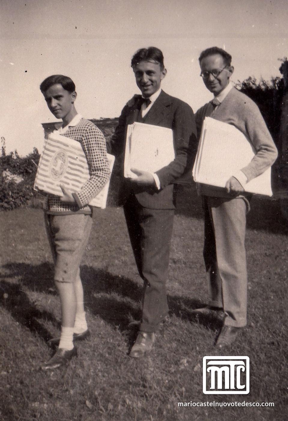 Nino Rota, Virgilio Mortari, MCT, Usigliano, 1926