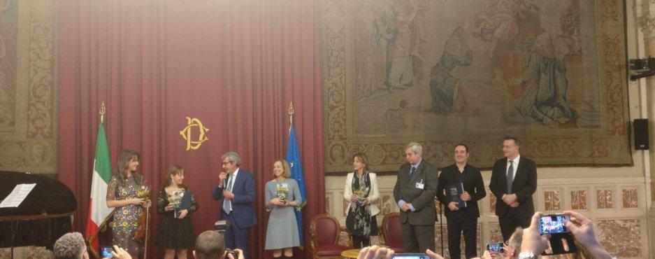 Castelnuovo-Tedesco Awarded President's Medal in Rome