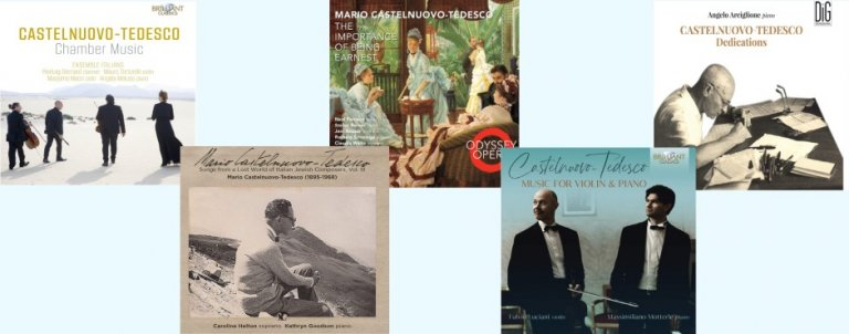 Mario Castelnuovo-Tedesco notable recordings 2020