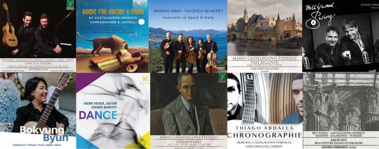 Castelnuovo-Tedesco 2019-2020 Guitar CDs