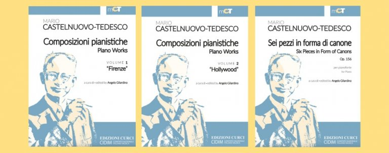 Mario Castelnuovo-Tedesco music for solo piano, now newly publshed